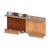 SGM 01 - 40 (3 Door Kit)Sgm 01 - 40 Sliding System For Three Door Wardrobe (door Weight 80 Kg)